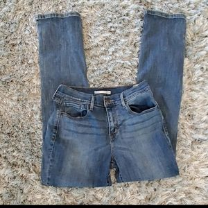 Levis 505 Blue High Waisted Jeans Size 29